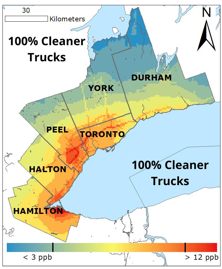 100� Cleaner Trucks NO2