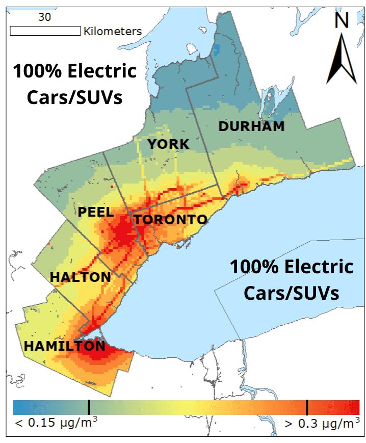100� Electric Cars SUVs BC