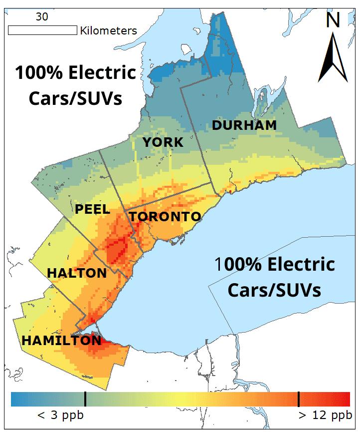 100� Electric Cars SUVs NO2