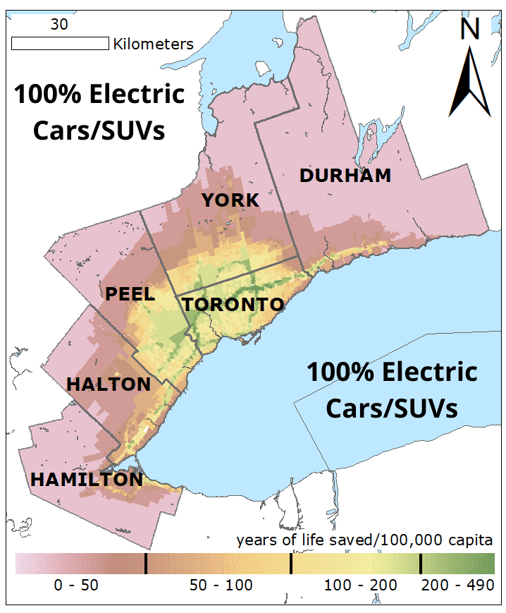 100� Electric Cars SUVs YLS