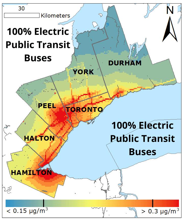 100� Electric Public Transit Buses BC