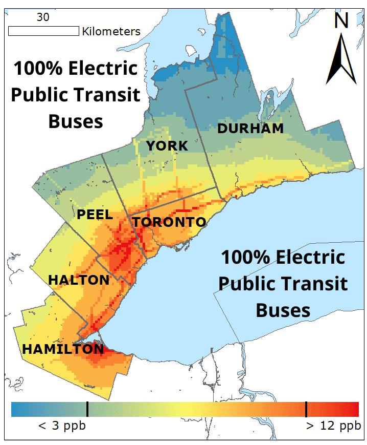 100� Electric Public Transit Buses NO2