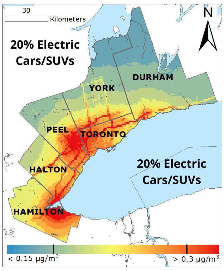 20� Electric Cars SUVs BC