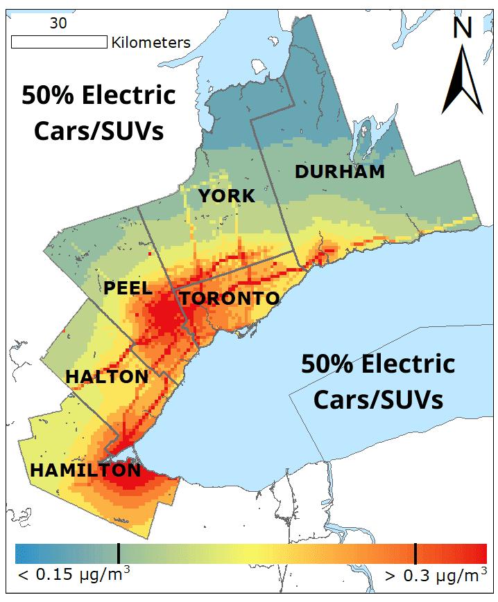 50� Electric Cars SUVs BC