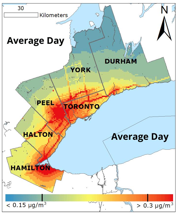 Average Day BC