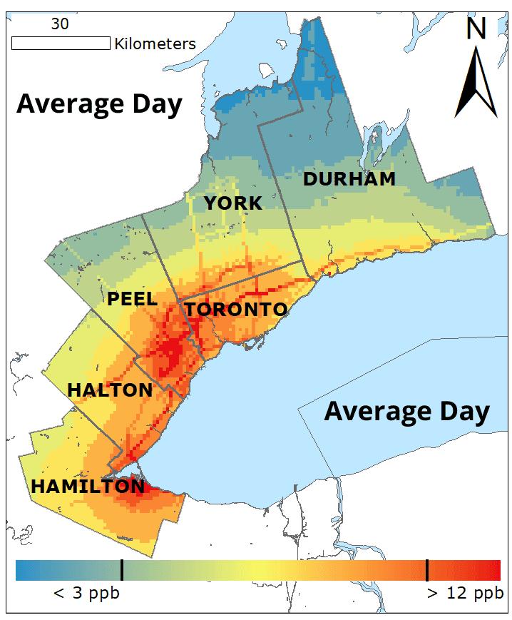 Average Day NO2